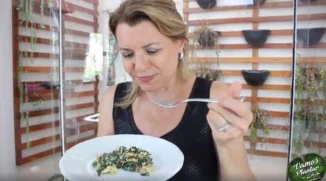 Apresentadora sempre defendeu o consumo de alimentação saudável ao cozinhar em seus programas de TV.