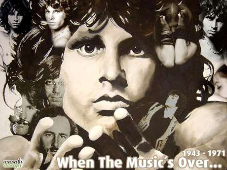 Jim Morrison, líder do grupo The Doors