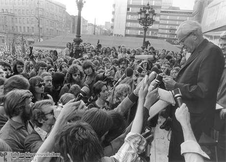 Marcuse, profeta da rebelião dos jovens de 1968.