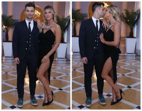 runo Gagliasso e Giovanna Ewbank (Fotos: Anderson Borde/AgNews)
