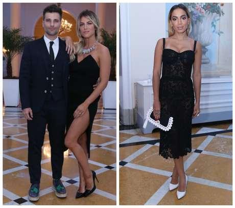 Bruno Gagliasso, Giovanna Ewbank e Anitta (Fotos: Anderson Borde/AgNews)