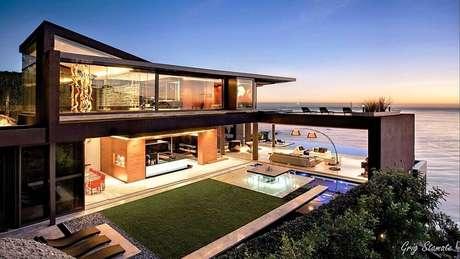 4. Projeto moderno para casas de luxo