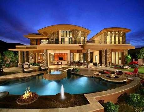 21. Lindos projetos de casas luxuosas