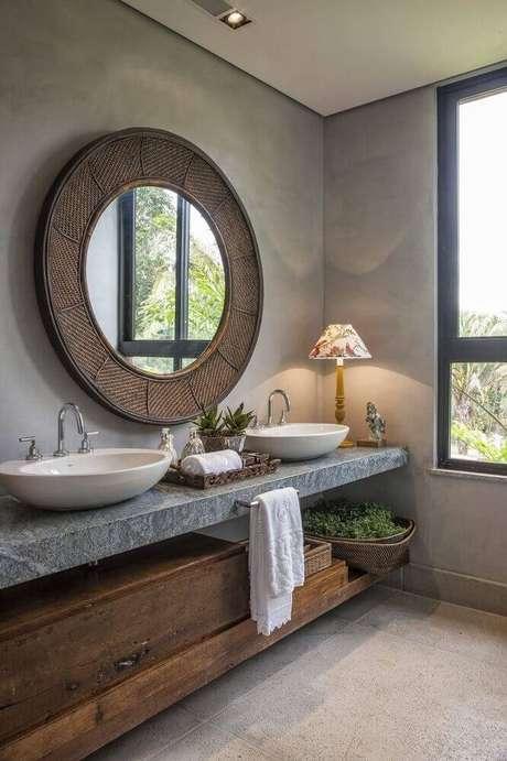 16. Casa de rico sempre tem um lavabo bem luxuoso