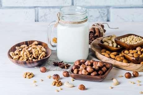 Diferentes tipos de leite vegetal