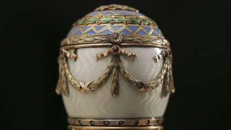 Entre 1885 e 1916, 50 ovos foram encomendados ao joalheiro Peter Carl Fabergé por czares russos