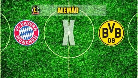 Bayern e Borussia Dortmund se enfrentam neste sábado, em Munique