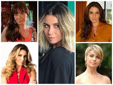 Looks da Giovanna Antonelli (Fotos: Instagram/Reprodução - TV Globo/Divulgação)