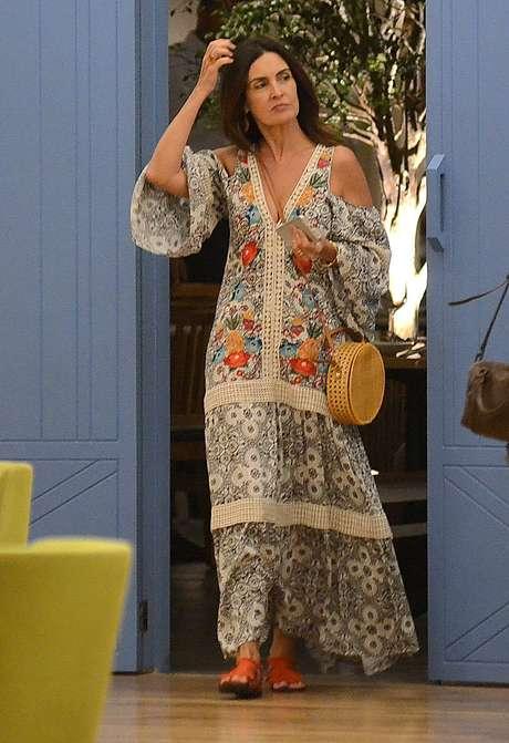 Fátima Bernardes (Foto: Webert Belíco/AgNews)