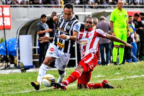 Partida entre Central e Náutico válido pelo primeiro jogo da final do Campeonato Pernambuco neste domingo no Luiz Larceda (Lacerdão) em Caruaru.