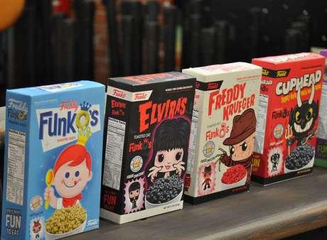 Já imaginou os bonequinhos virando cereal? Nós imaginamos...