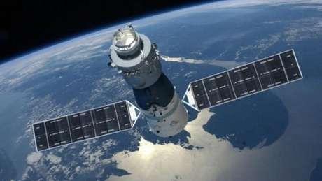 Estação espacial chinesa Tiangong-1