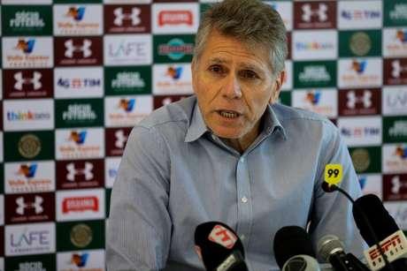 Paulo Autuori afirmou que reforços vão chegar (Foto: Lucas Merçon/Fluminense F.C.)