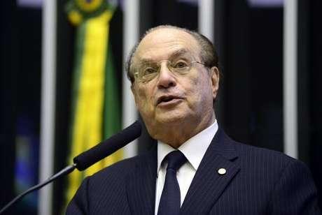 O deputado federal paulista Paulo Maluf
