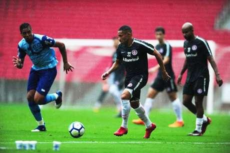 No último final de semana, Inter enfrentou o Caxias em jogo-treino.