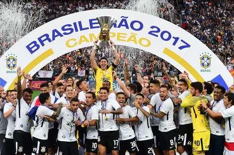 Corinthians é o atual campeão brasileiro
