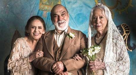 Laura Cardoso (Caetana), Lima Duarte (Josafá) e Fernanda Montenegro (Mercedes): atores oferecem atuações poéticas aos telespectadores de 'O Outro Lado do Paraíso'.