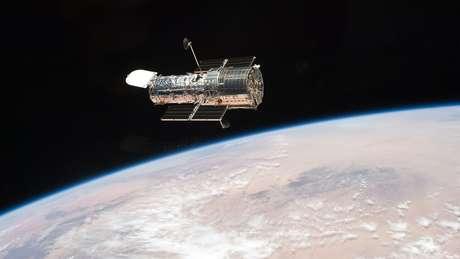 O telescópio espacial Hubble, da Nasa, se dedica a fotografar o espaço desde seu lançamento, em 24 de abril de 1990