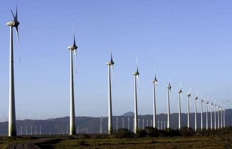Visão geral de parque eólico em Osório, no Rio Grande do Sul 30/11/2007 REUTERS/Jamil Bittar