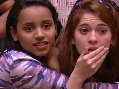 """No """"BBB18"""": Ana Clara e Gleici ganham torcida de Marina Ruy Barbosa e mais!"""
