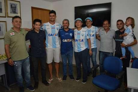 Zagueiro é um dos principais reforços do Londrina para a disputa da Série B (Foto: Divulgação/ Londrina)