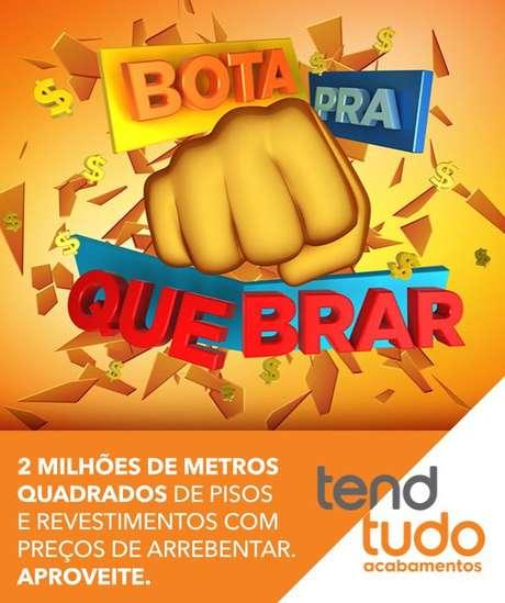 eae2b4355 Tendtudo realiza campanha Bota para Quebrar com descontos em pisos e ...