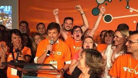 Um dos criadores do partido Novo, João Amoêdo deve ser o nome da primeira disputa presidencial da legenda