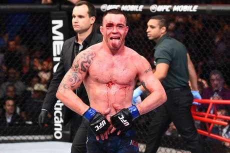 Colby voltou a falar mal do Brasil e discutiu sobre a sua segurança antes do UFC 224, no Rio (Foto: Divulgação/UFC)