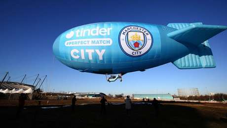 Manchester City e Tinder se associam em 'match perfeito'