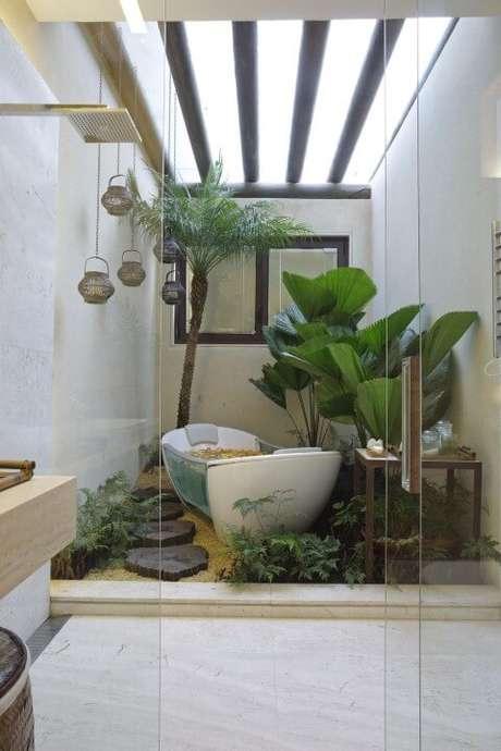 40. Este jardim de inverno projetado por Eduarda Correa ficou muito bonito