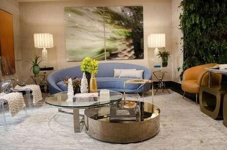 49. Jardim vertical em sala de estar. Projeto de Casa Cor SP 2017