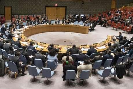 A sessão de hoje do Conselho de Segurança foi realizada a pedido da Rússia