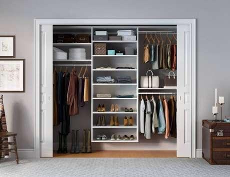 3. Modelos de armários embutidos para quarto