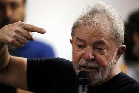 Ex-presidente Luiz Inácio Lula da Silva durante evento no Rio de Janeiro 16/03/2018  REUTERS/Paulo Whitaker