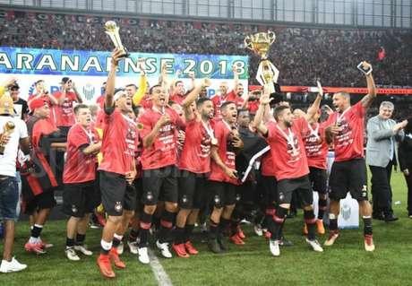 Pela primeira vez, uma equipe alternativa do Atlético-PR fica com o título (Foto: Miguel Locatelli/ Site oficial)