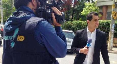 O jornalista Igor Duarte tentou dialogar com seus próprios agressores