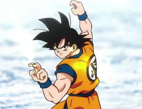 Son Goku na versão de 'A Origem dos Saiyans'