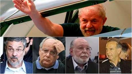 Palocci, Leo Pinheiro, Renato Duque e Adir Assad são alguns dos presos da Lava Jato na carceragem da PF com Lula