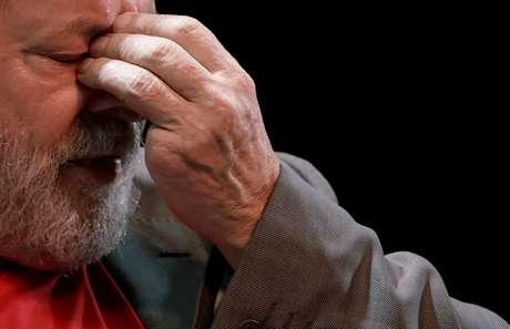 Ex-presidente Luiz Inácio Lula da Silva 02/04/2018 REUTERS/Ricardo Moraes