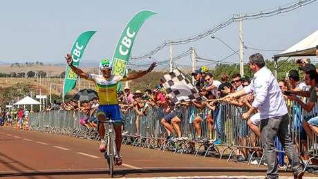 Roberto Pinheiro é suspenso pela União Ciclística Internacional (Divulgação/CBC)