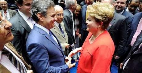 Candidatos ao Planalto em 2014, Aécio Neves e Dilma Rousseff devem disputar uma vaga ao Senado por Minas Gerais