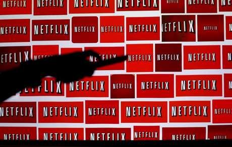 Logo da Netflix em fotoilustração tirada em Encinitas, Califórnia, EUA 14/10/2014 REUTERS/Mike Blake