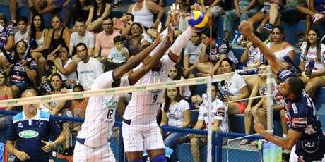 Sada Cruzeiro x Taubate Volei (foto:Divulgalção)