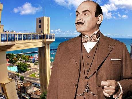 Você consegue imaginar Poirot em Salvador? Nós sim!