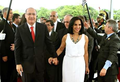 Geraldo e Lu Alckmin: Um irmão da primeira-dama é suspeito de ter recebido R$ 2 milhões com a aprovação do então governador