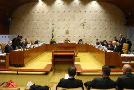 Sessão plenária do STF para julgar o habeas corpus do ex-ministro Antonio Palocci