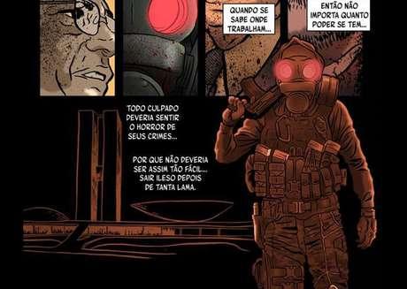 O Doutrinador nasceu nos quadrinhos e agora vai para o cinema