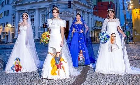 Edson Eddel defende a ousadia na hora de escolher a cor do traje de noiva.