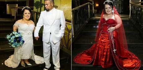 O fashion designer criou vestidos para portadoras de nanismo como a Estela da novela 'O Outro Lado do Paraíso.