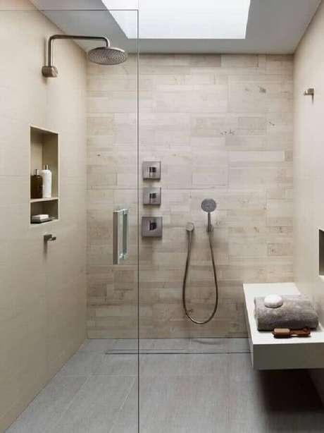 30. Modelos de banheiro com nicho embutido